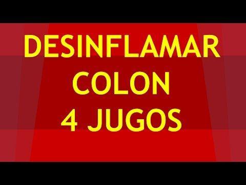 como desinflamar el colon 4 jugos para desinflamar el colon