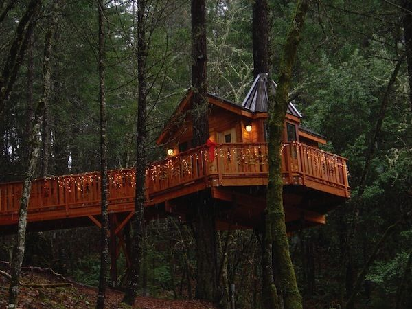 10 Great Treehouse Hotels (article)-This is Chris's bucket list- a treehouse vacation