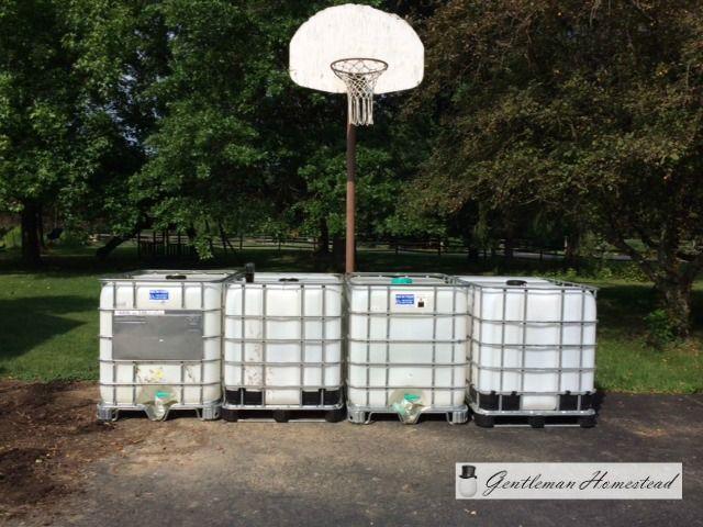 DIY Rain Barrel from a 275 Gallon IBC Water Tote   Gentleman