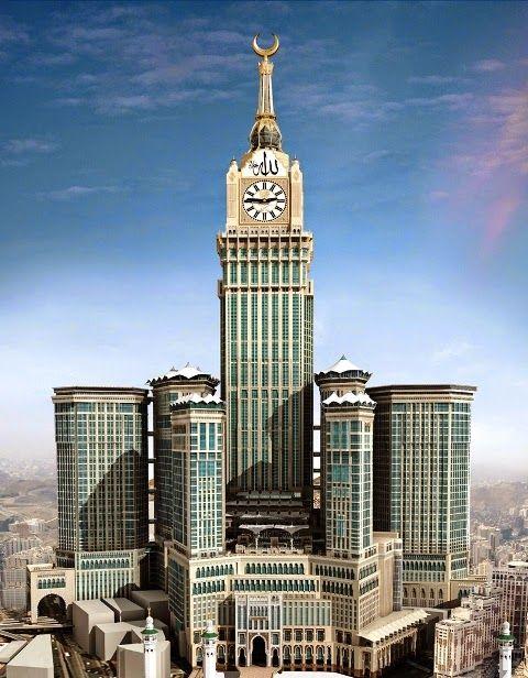 أكبر 10 فنادق في العالم مدونة العالم العجيب Mecca Hotel Clock Tower Supertall