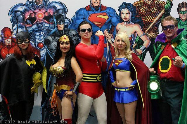 DC Universe Cosplay | Superhero groups, Superhero, Wonder woman