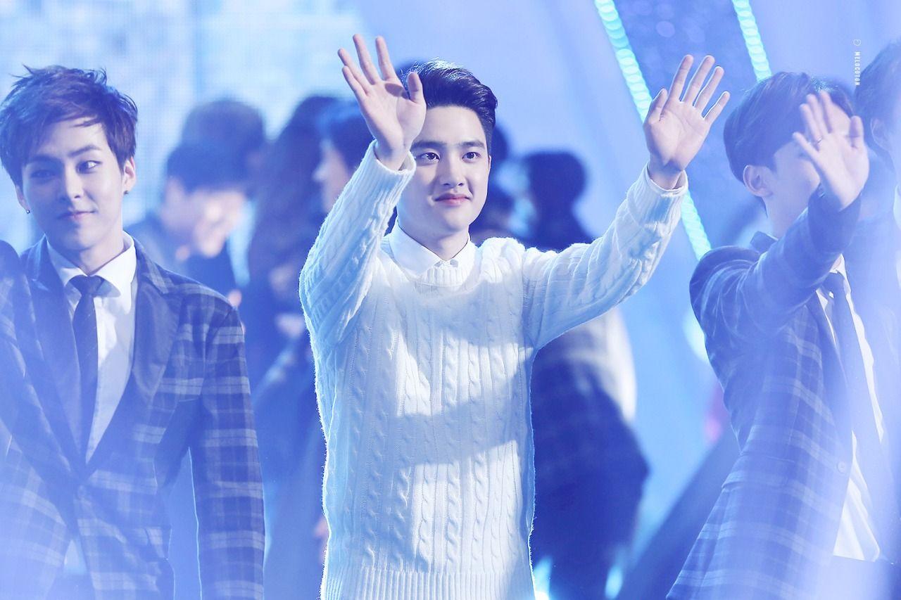 D.O - 141226 2014 KBS Gayo Daejun - 9/9 Credit: Melocoton. (2014 KBS 가요대축제)