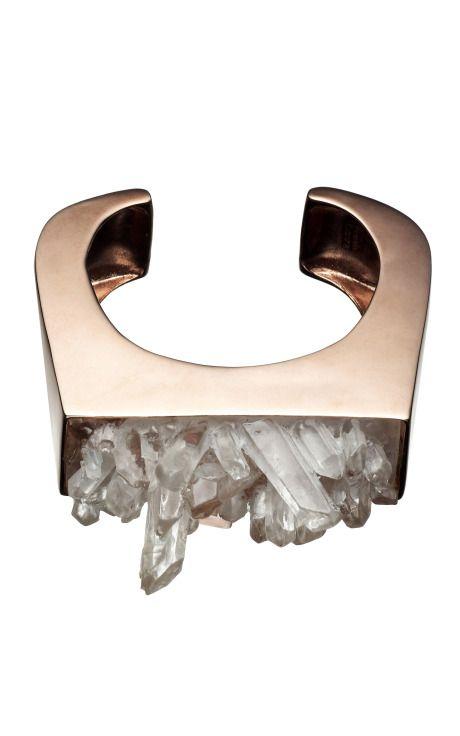 resin crystal block cuff