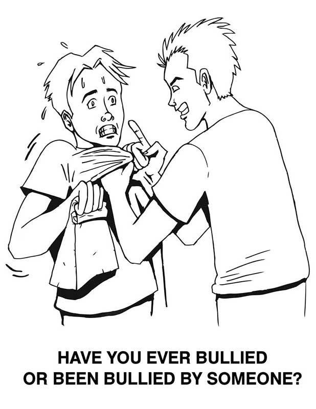 Anti Bullying Coloring Book