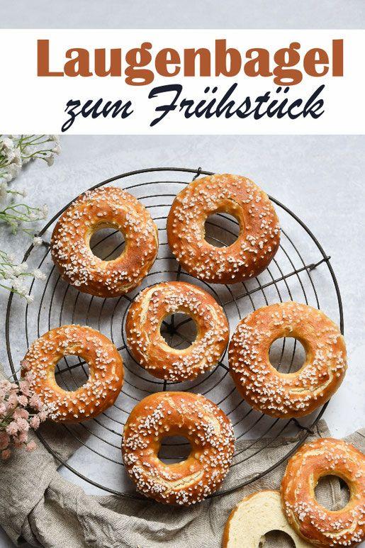 Laugen-Bagel. Happy Frühstück!