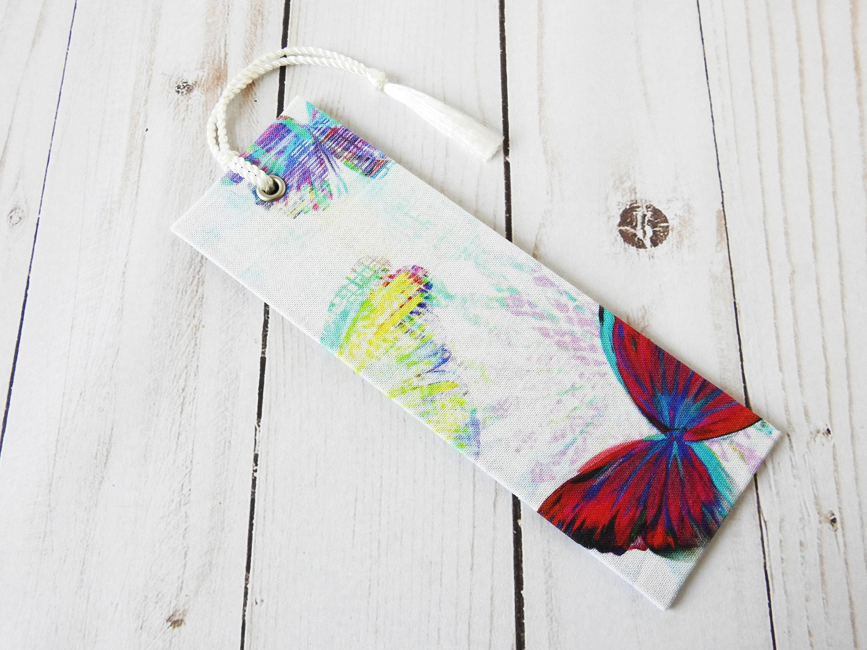 Butterfly bookmark literary gifts bookworm gifts gifts for