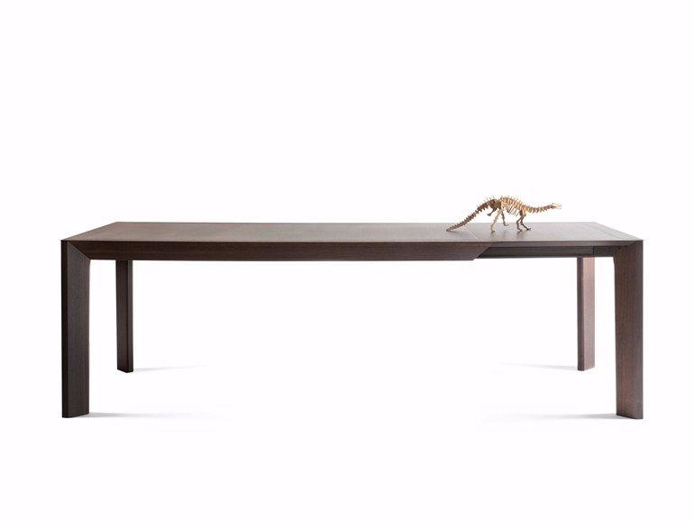 Ausziehbarer rechteckiger Tisch aus Eichenholz THERA by Lema Design ...