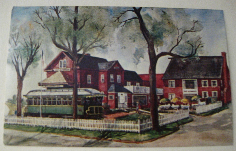 Vintage Color Postcard Of The Yankee Silversmith Inn