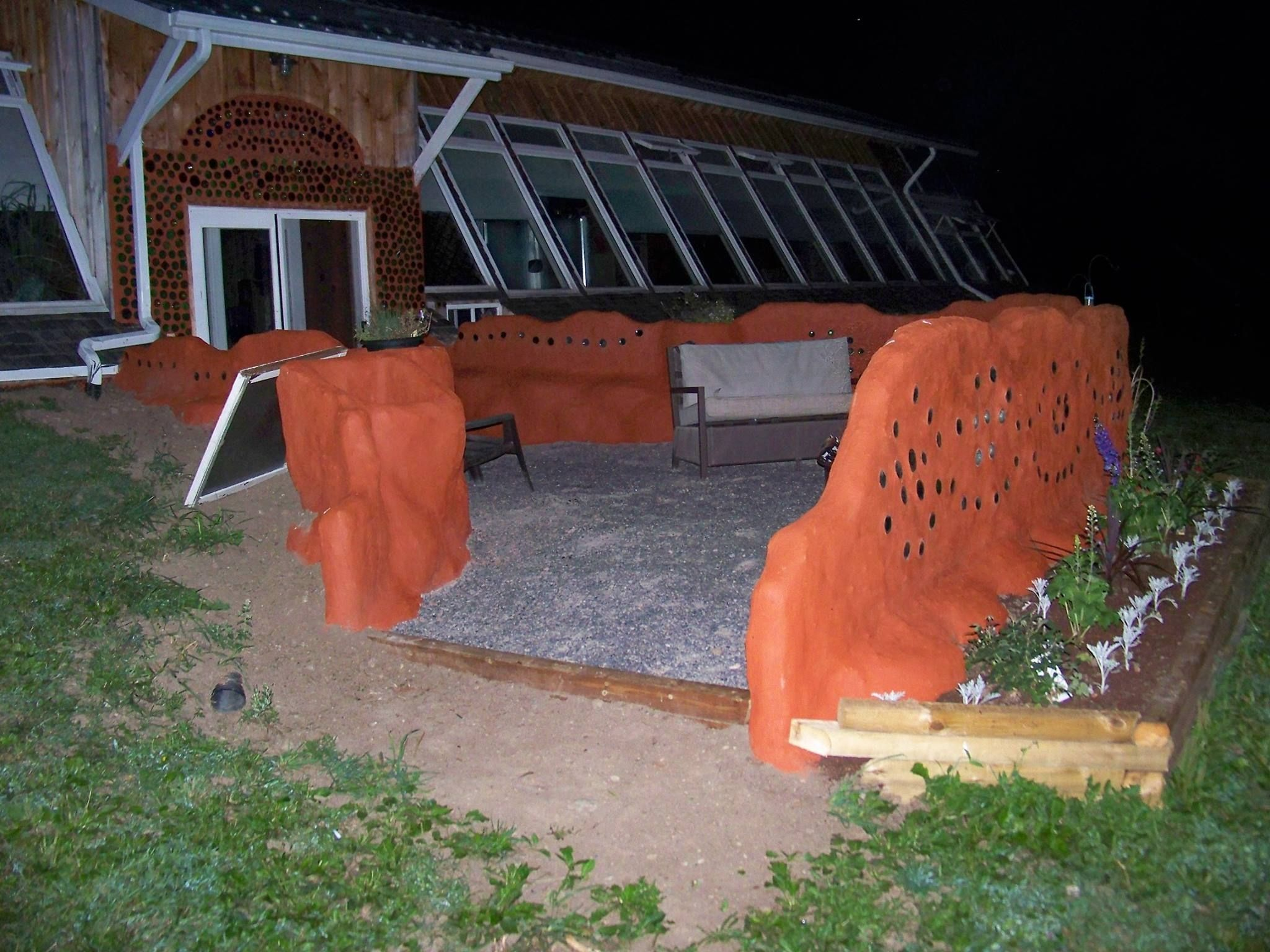 Inside the lives of canadians who live in earthships
