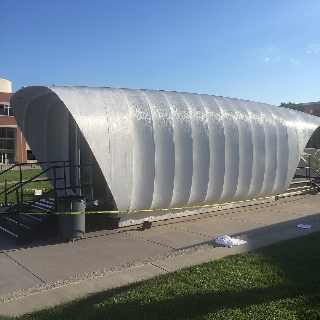 A 3D Printed House The Largest 3D Printed Polymer
