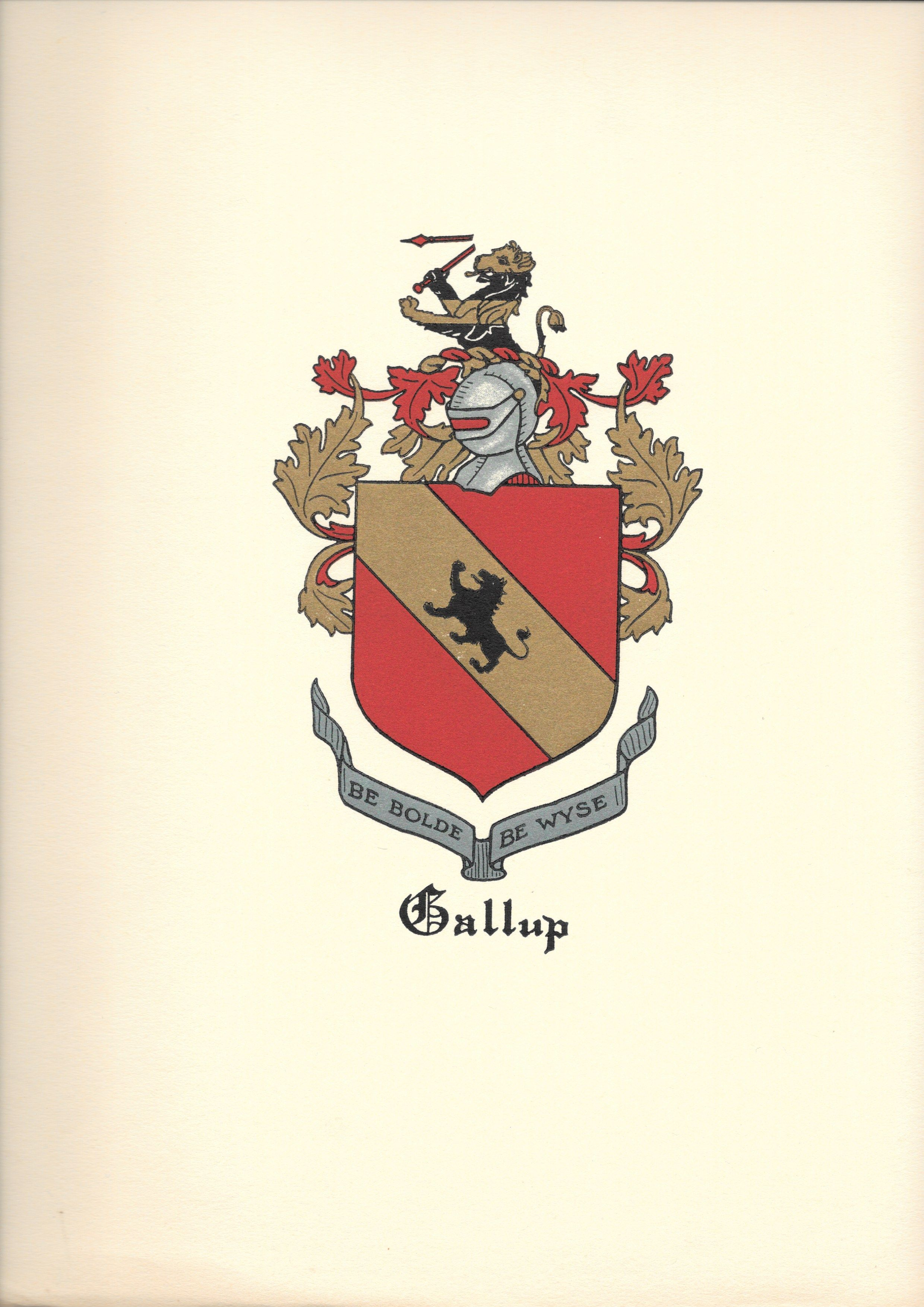 Gallup family crest Family crest, Ancestor,