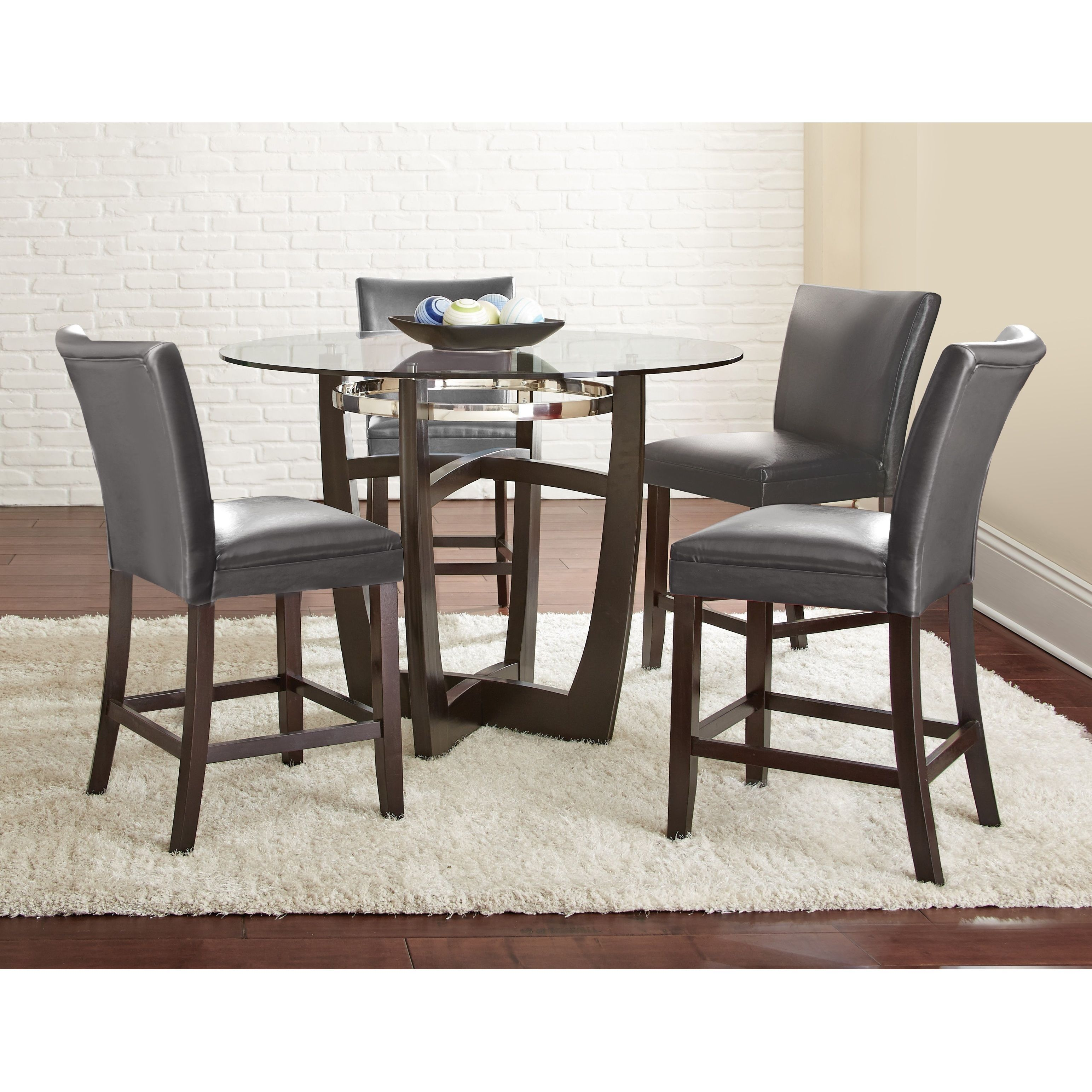 Best Monoco Counter Height 5Pc Dining Set By Greyson Living 400 x 300