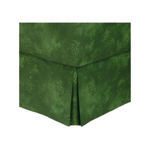 Rain Forest Green Bedskirt Queen All Seasons Bedding 34