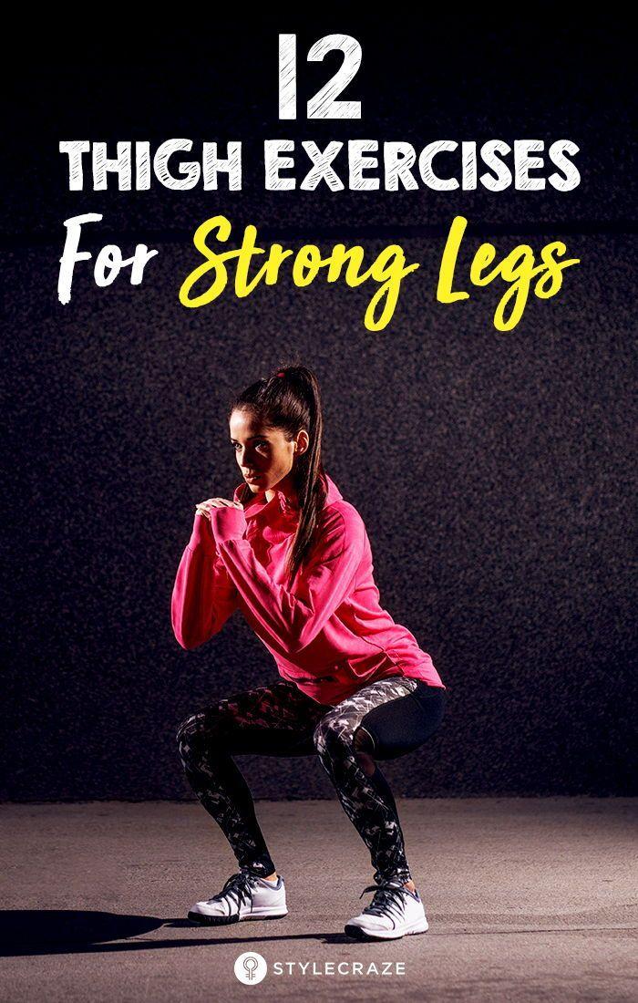12 Leg Strengthening Exercises For Women – How To Get Strong Legs #strengtheningexercises How To Get...