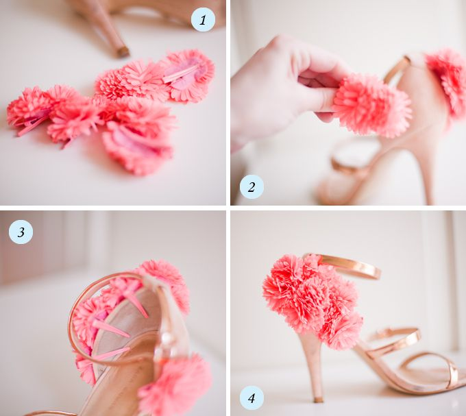 Diy flower embellished sandals by cocorosae has the coolest diy flower embellished sandals by cocorosae has the coolest diys solutioingenieria Image collections