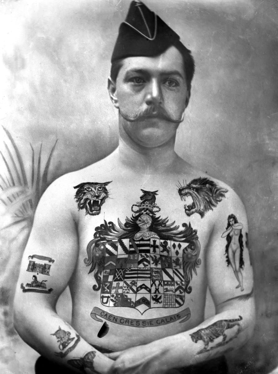 33 Badass Pictures From The Golden Age Of Tattoos Sailor
