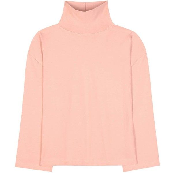 Acne Studios Lorna Cotton Turtleneck Sweater (370 AUD) ❤ liked on ...