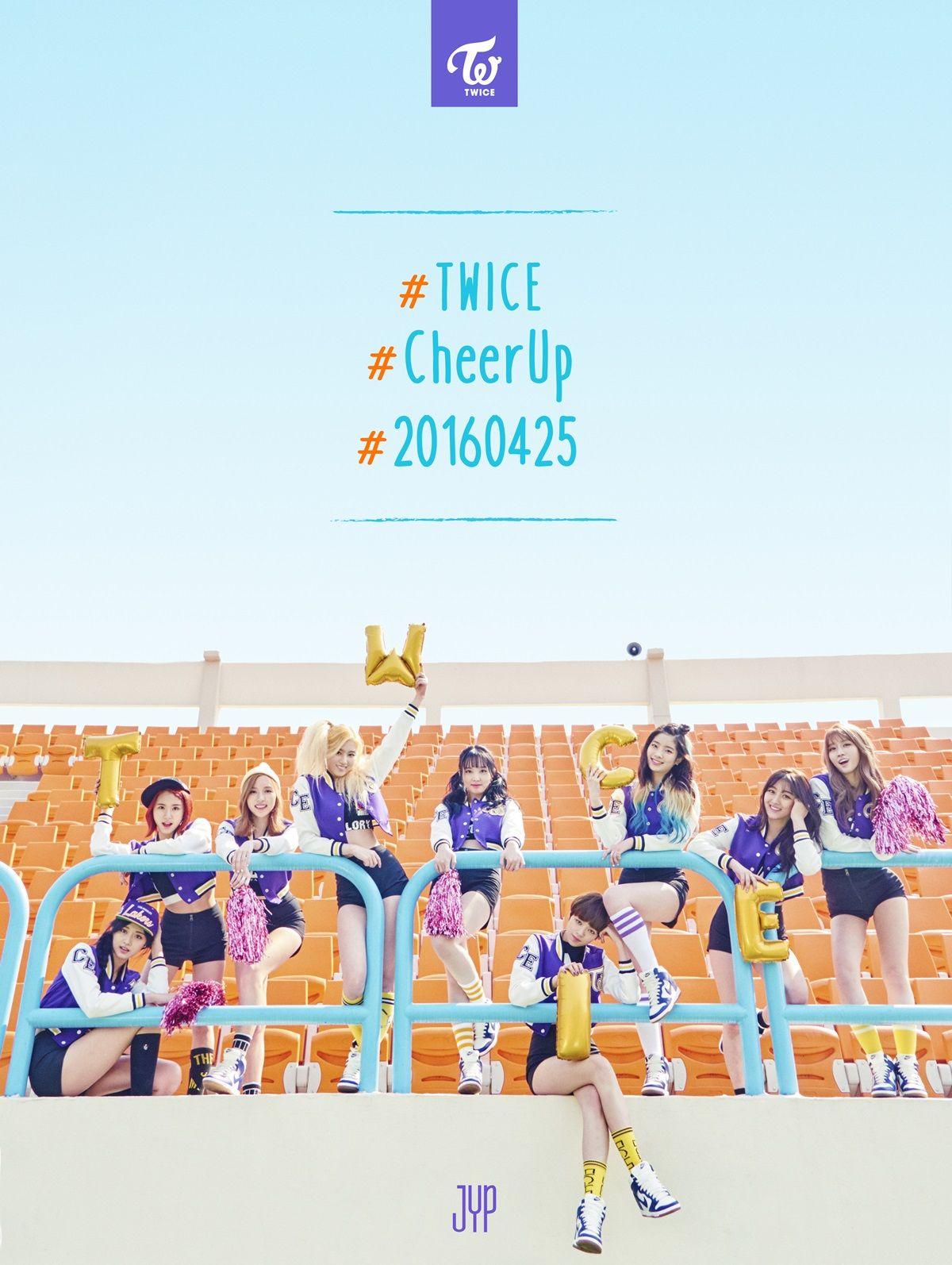 TWICE Announces New Single Title, 'Cheer Up' | MoonROK | moonROK