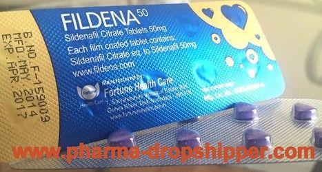 Fildena (Sildenafil Citrate 50mg Tablets) - Classified Ad | dropshipper pharma | Scoop.it