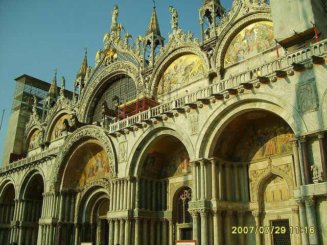 Basilica Di San Marco A Venezia Cathedral Basilica Doges Palace
