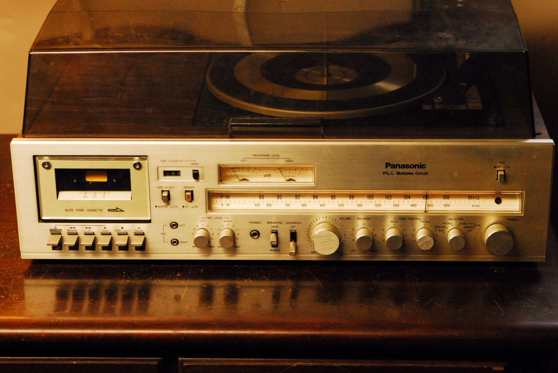 Panasonic Stereo With Thruster Speakers Vintage Electronics Hifi Childhood Memories