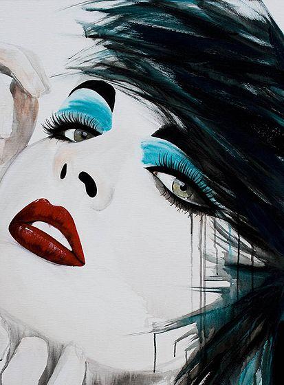 Kunst faces 86 Rosalinda