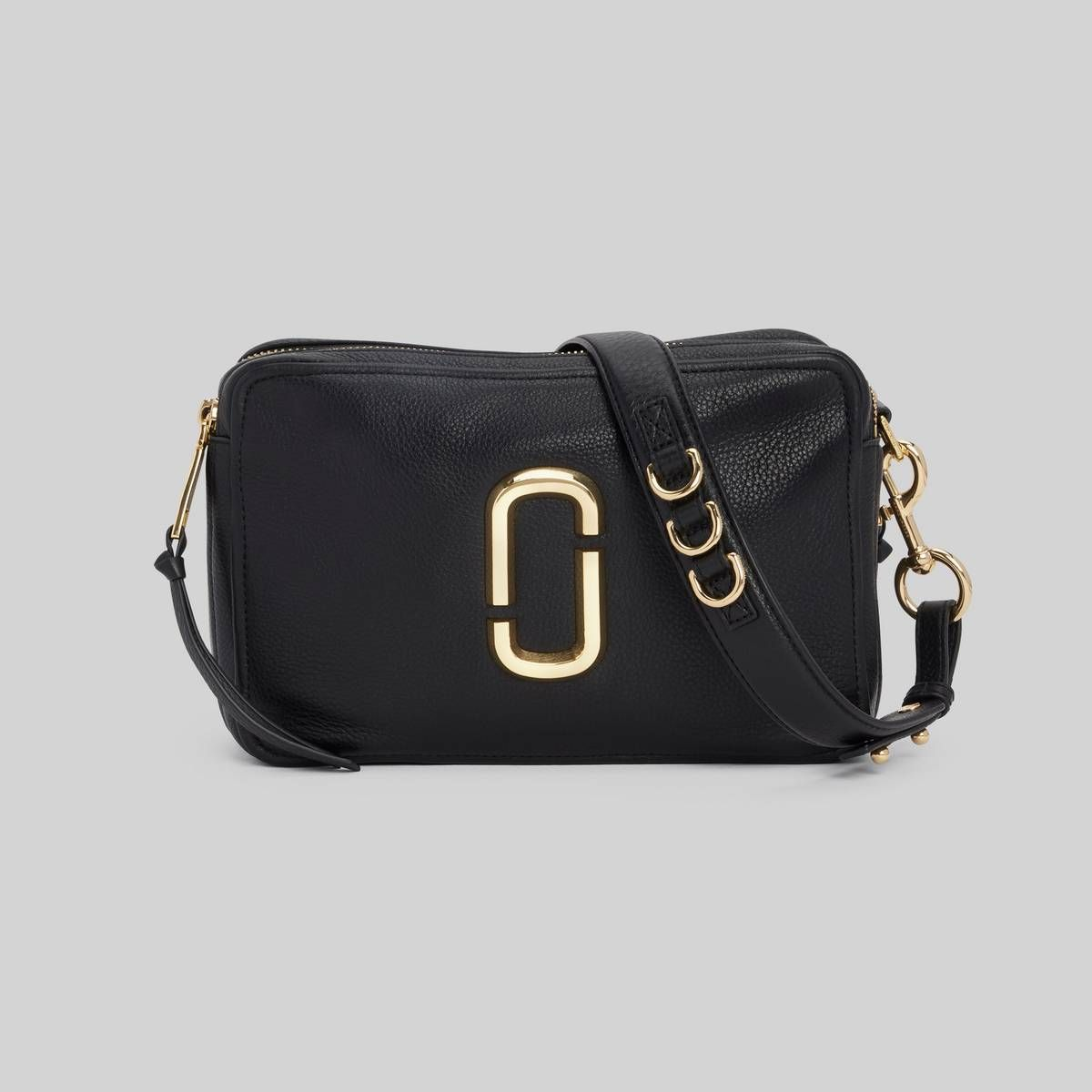MARC JACOBS Women's The Softshot 27 Bag in Black   Marc jacobs ...