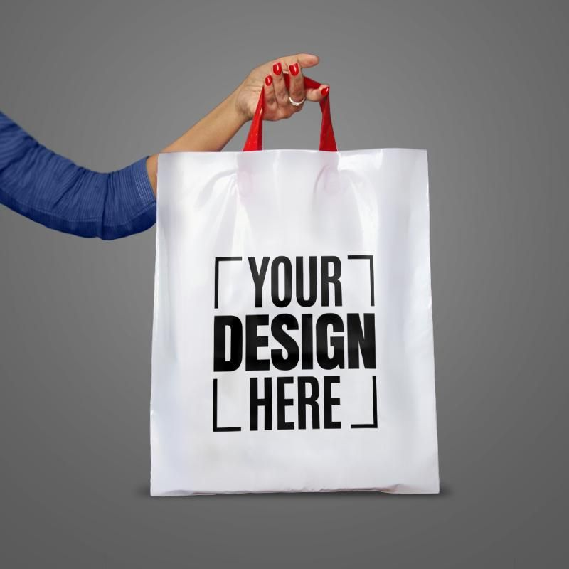 591d60759a27 Shop Personalized Screen Printing Packaging Carry Bags, Exhibition ...