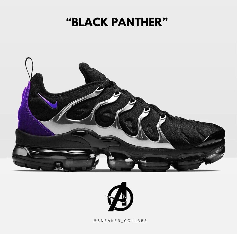 vapormax plus utility black panther