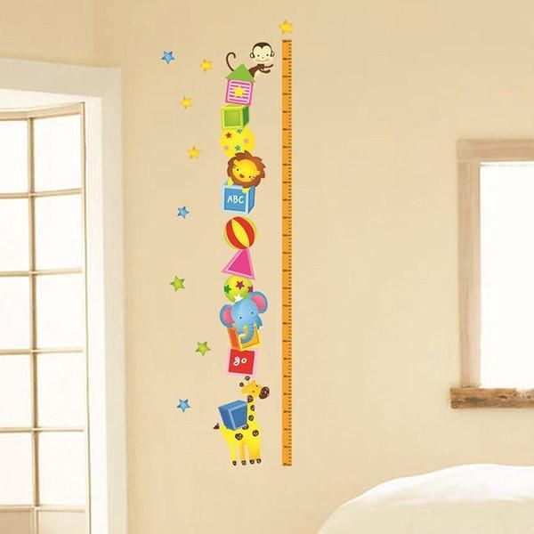 Height Chart Wall Decal | Products | Pinterest | Height chart and ...
