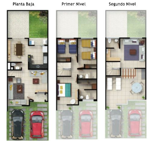 Untitled document interiore house plans modern house for Planos de casas de 3 pisos