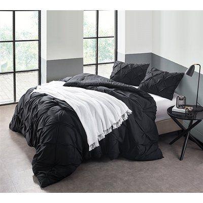 Ophelia Co Iyonna Pin Tuck 3 Piece Comforter Set Size Twin Xl