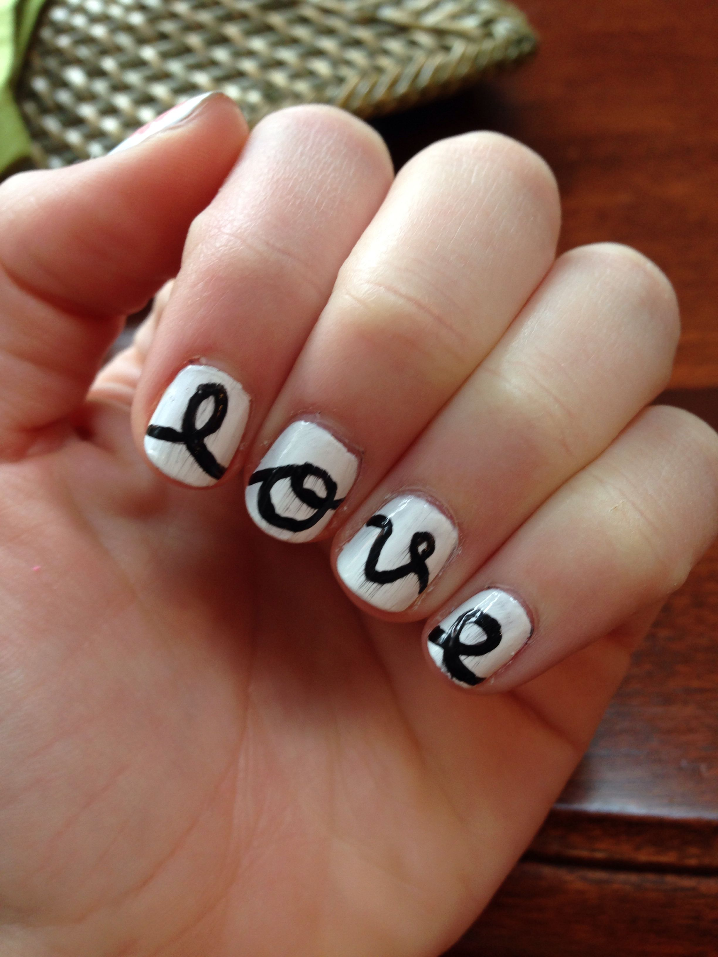 Love my love nails!! ;)