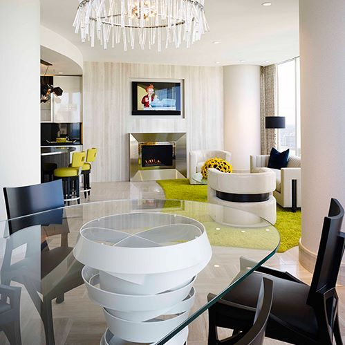 Posh dining room design for you feel the wilderness straight from your home also rh pinterest