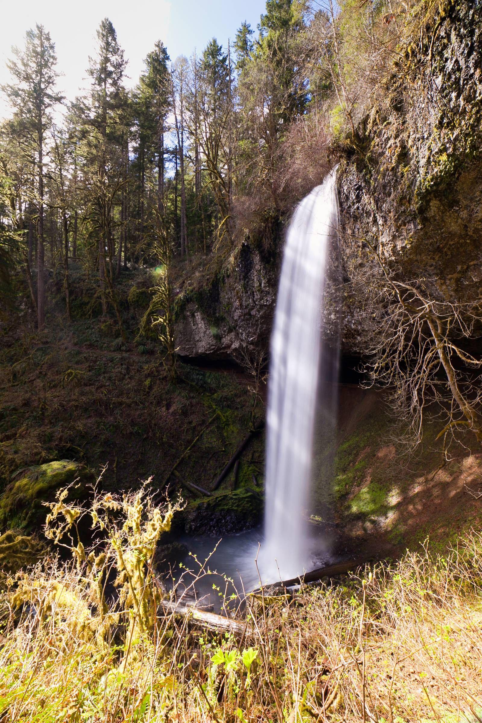 Shellburg Falls Near Stayton Oregon Oregon Waterfalls Outdoor Recreation Breathtaking Views