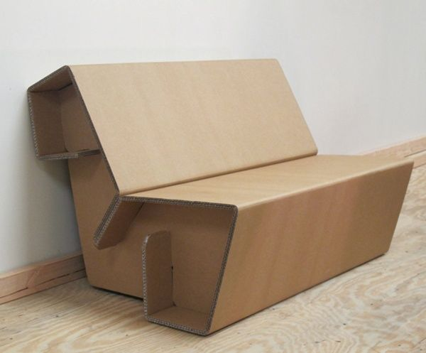 Chairigami Cardboard Chairs Look Equally Amazing And Uncomfortable Cardboard Furniture Diy Cardboard Furniture Diy Cardboard