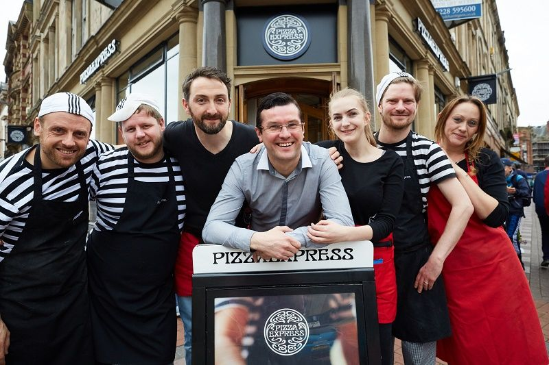 Banking On New Look For Carlisle Pizzaexpress Cumbria News