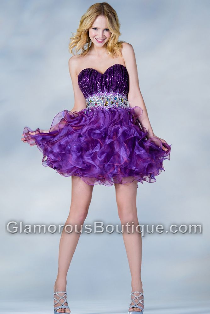 quinceanera short dresses - Dress Yp