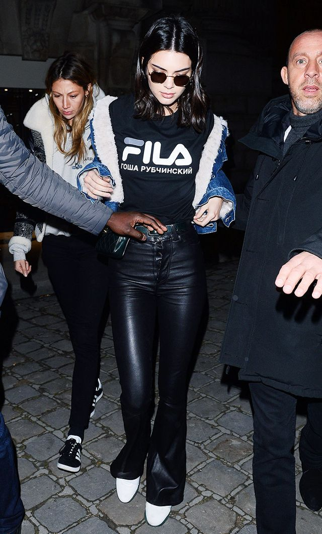 The T Shirt Style That's Become Kendall Jenner's New Staple