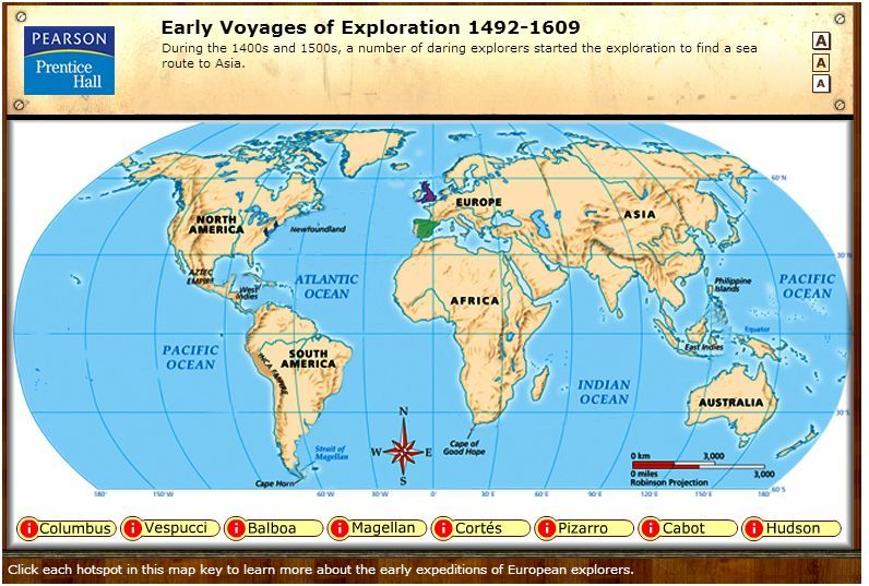 Early voyages of exploration interactive map through pearson early voyages of exploration interactive map through pearsonprentice hall gumiabroncs Image collections