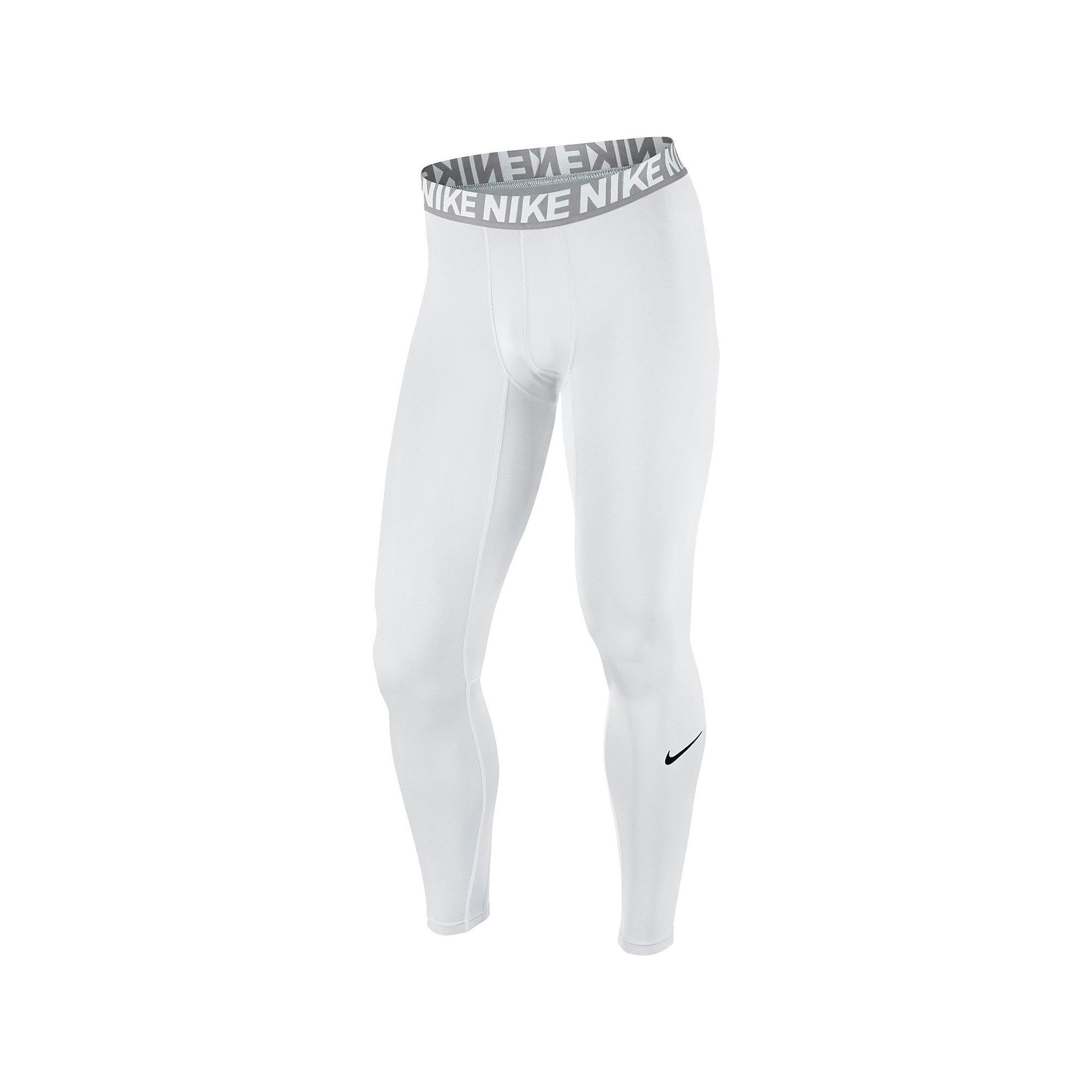 6fce89493b Men's Nike Dri-FIT Base Layer Compression Cool Tights, Size: Medium, White