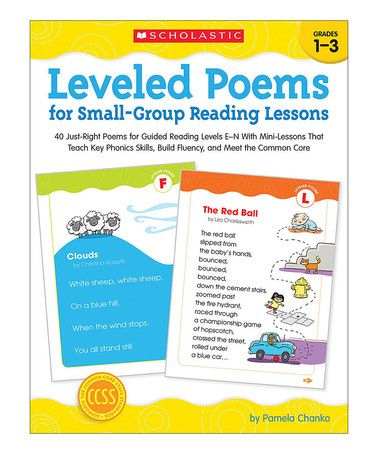 Look what I found on #zulily! Leveled Poems for Small-Group Reading Paperback #zulilyfinds