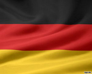 powerpoint template flag of germany embedded into a powerpoint
