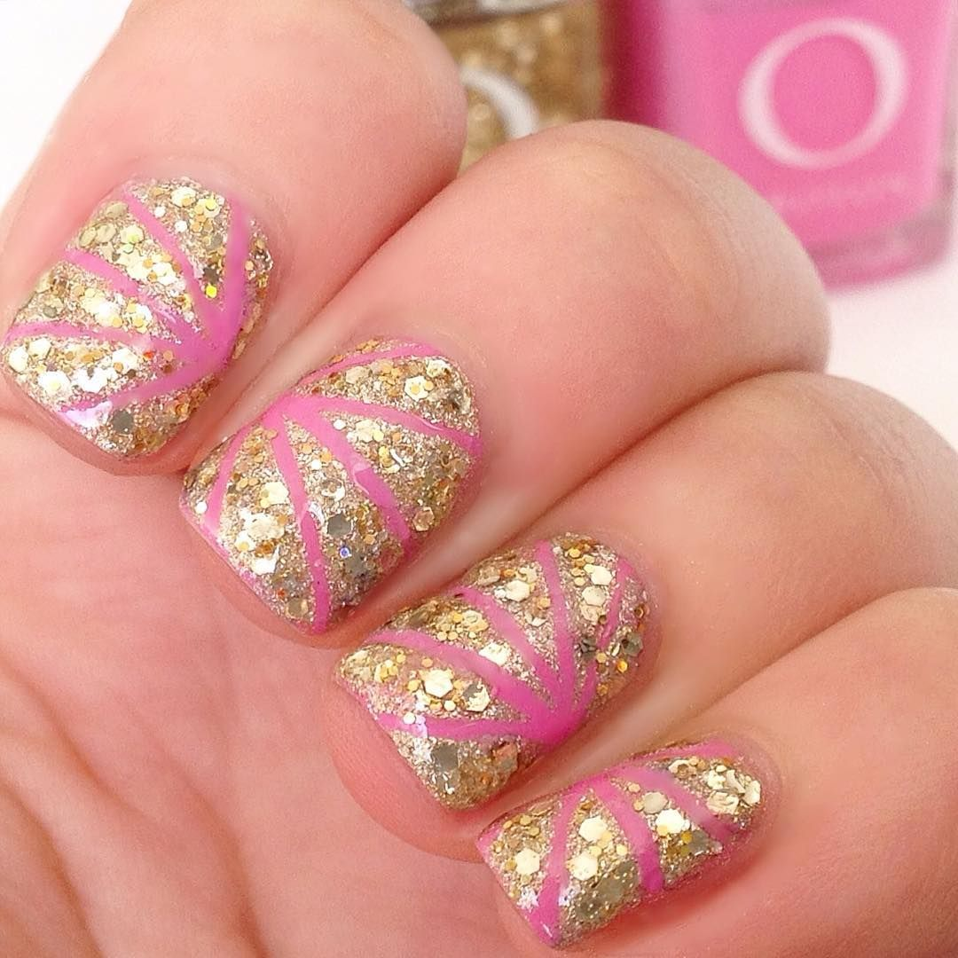 Awesome Acrylic Nail Designs Trends Glitter Nail Designs Acrylic