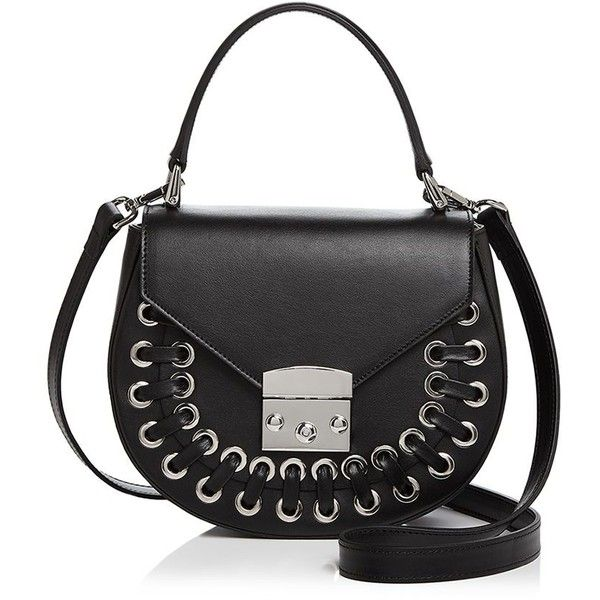 Perfect Aqua Stitched Leather Saddle Bag - 100% Exclusive Where Can I Order HBNOEPZ