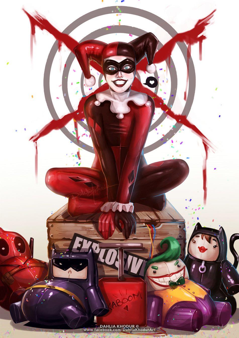 Harley Quinn - Dahlia Khodur