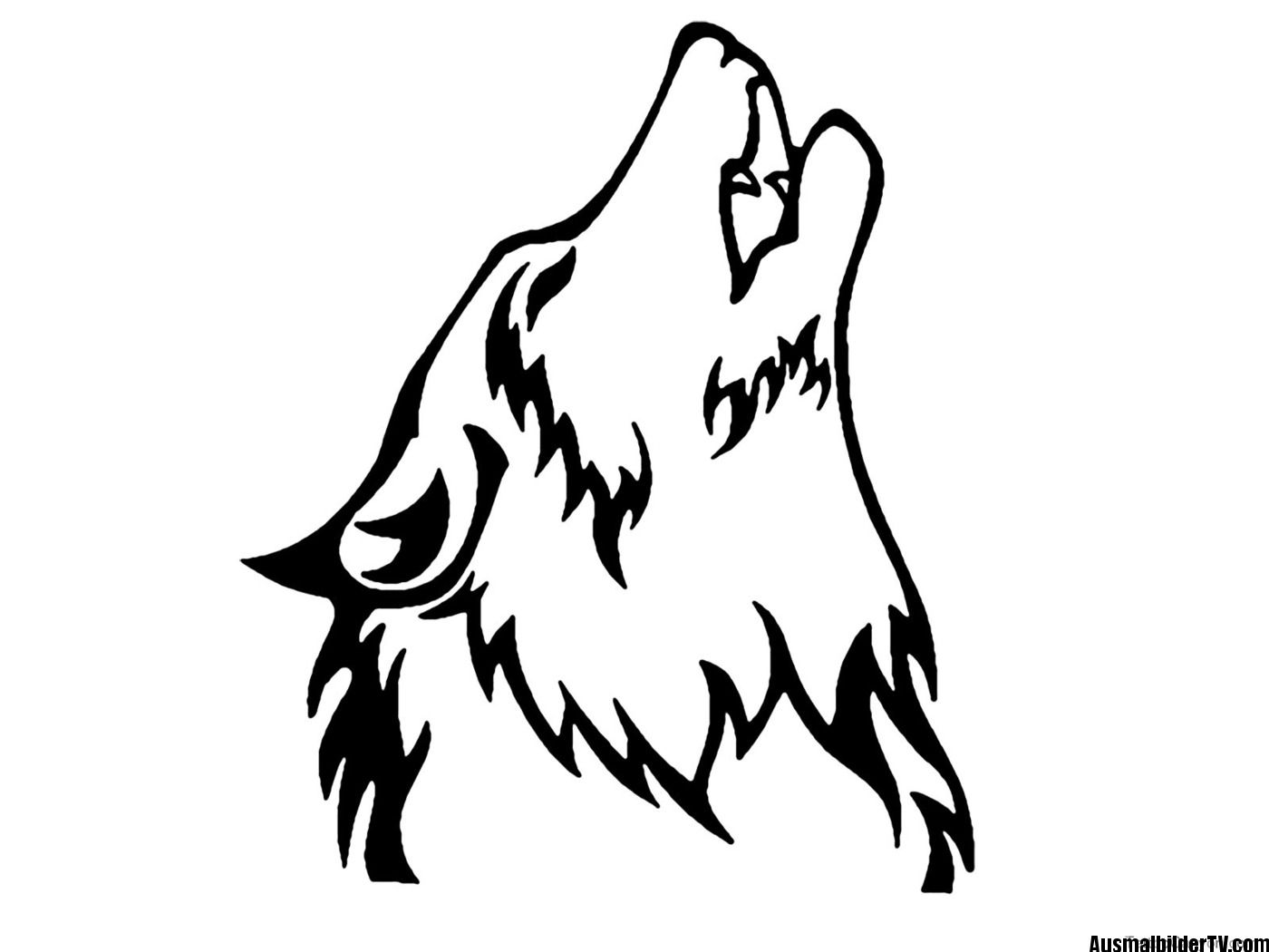 wolf ausmalbild | Brandmalerei | Pinterest | Wolf, Ausmalbilder und ...