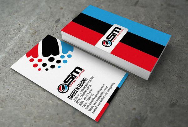 Osm spray painting business card card printing business cards and osm spray painting business card print colourmoves