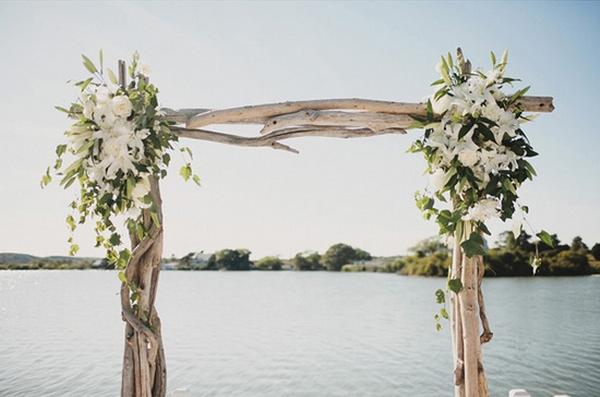 Pin By Lauren Mulligan On Arbors Driftwood Wedding Arches Beach Wedding Arbors Driftwood Wedding