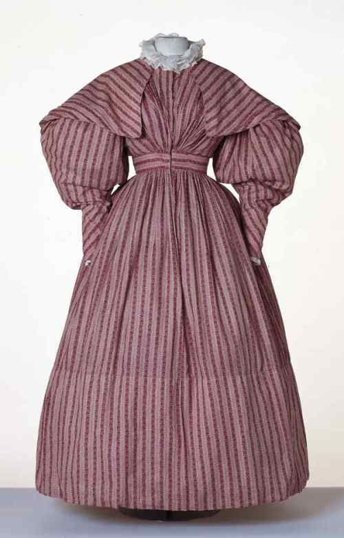 1830 Dress with Pelerine